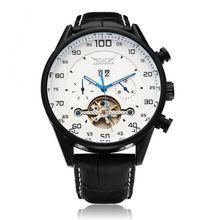 ГОРЯЧИЕ продаж! новый дизайн мужские часы автоматические механические часы движение Многофункциональный движение военные часы Relógio Masculino