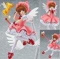 160mm Sakura Japan Anime Action Figure Sakura Card Captor figma 244 Cardcaptor Magic Girl Sakura