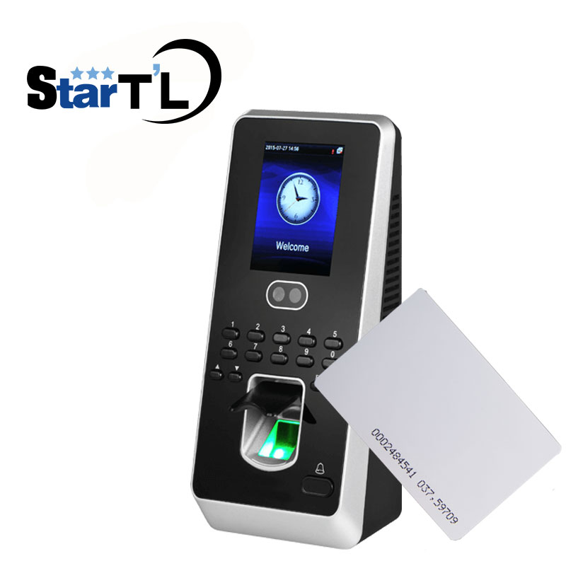Iface3 Multibio800 Facial Fingerprint Access Control TCP IP Fingerprint Time Attendance ZK Facial Rfid door Access