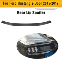 Carbon Fiber Rear Trunk Spoiler Tail Trunk Lip Wing Spoiler for Ford Mustang Coupe 2015 2017 S Style