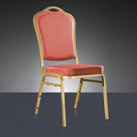 Quality Strong Metal Padded Stacking Event Chair LQ T8028