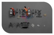 Sale DFRobot DF05BB 5kg Standard Servo 2 DOF Tilt/Pan Kit, 4.8~6V include 2 tandard Servos + 2 Aluminum bracket etc. for small robot