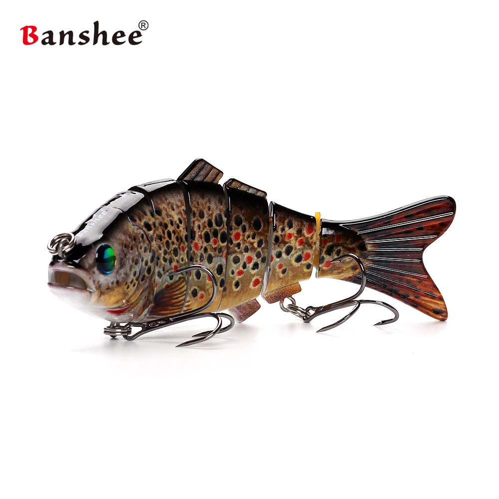 Big bass lures Fishing Wobbler Lifelike 6 Segments Swimbait VSJ06-6 Hard Bait 140mm 53.5g Isca Artificial bait Sinking 1# wldslure 1pc 54g minnow sea fishing crankbait bass hard bait tuna lures wobbler trolling lure treble hook