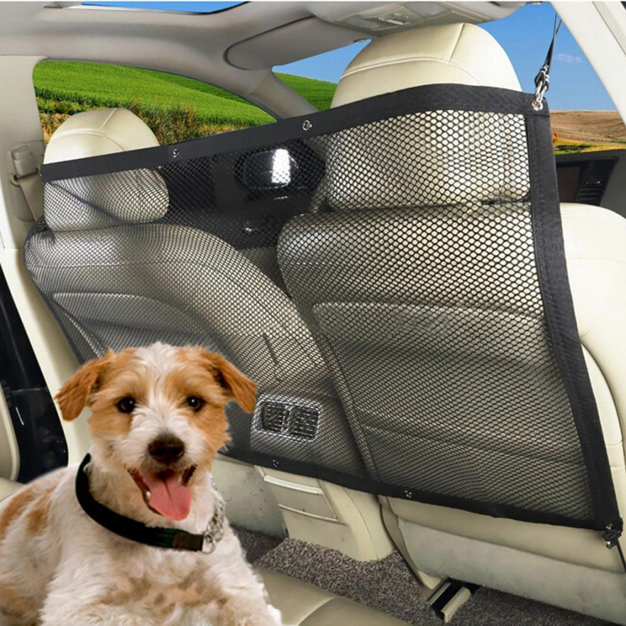 New Arrival new Car Auto Back Guard Seat Dog Children Pet Mesh Safety Oxford Net Barrier dec6 ...