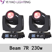 Sharpy Beam 230W Moving Head Light Touch Screen 230 Beam 7R Disco 2pcs/lot