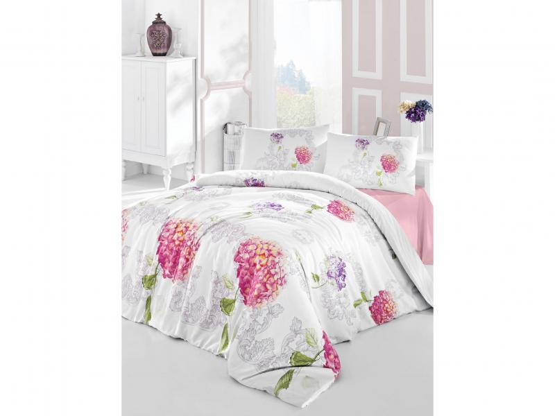 Bedding Set double-euro ALTINBASAK, HIDRA, pink cata isla hidra