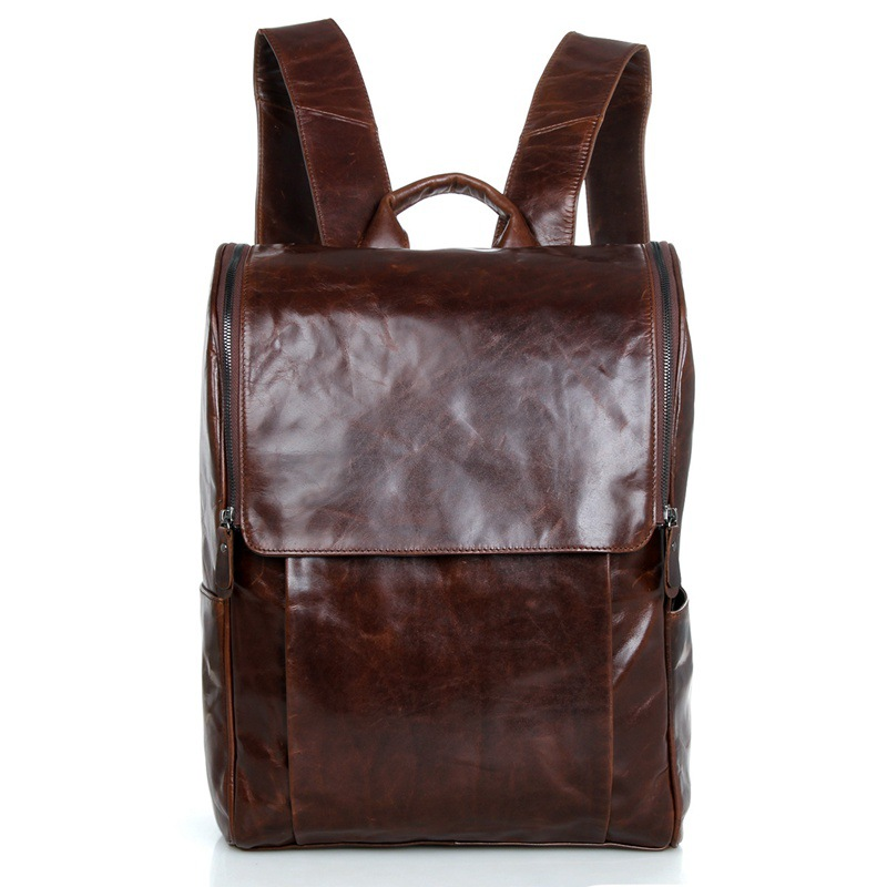 Nesitu Vintage 100% Guarantee Genuine Leather Men Backpacks Cowhide Women Backpack # M7344 nesitu vintage 100