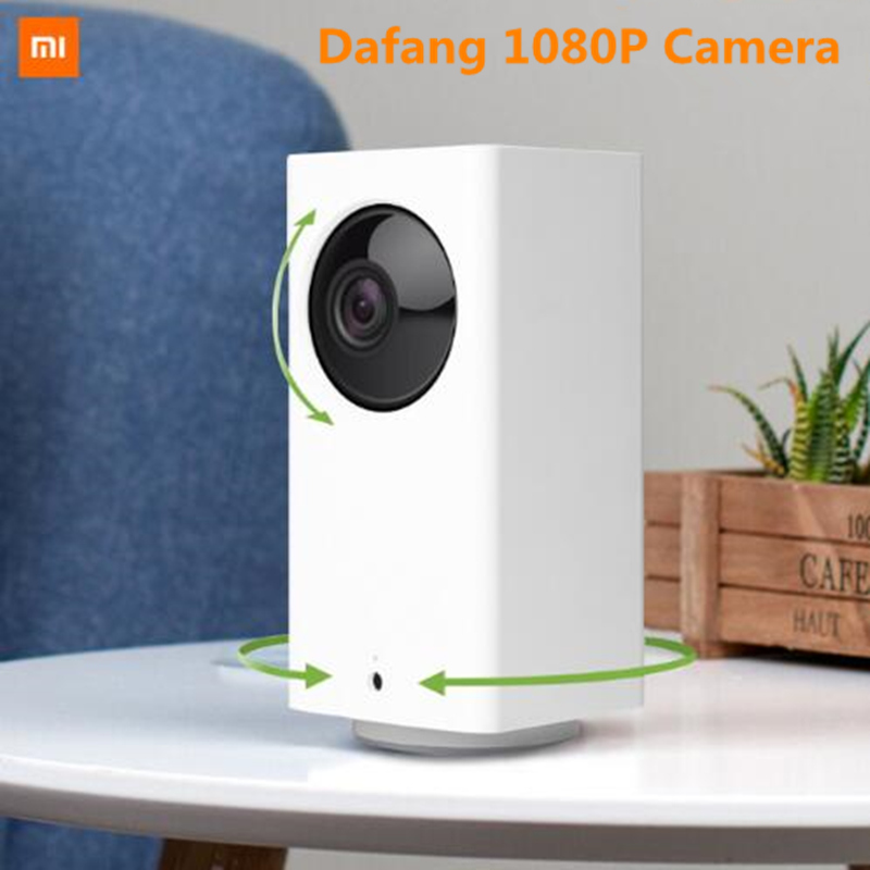 New Xiaomi Mijia Dafang Smart Camera 1080P HD Intelligent Security Camera Nightshot Upgrade XiaoFang WIFI  120 Degree Angle