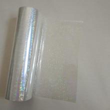 רדיד הולוגרפי שקוף קטן מעגל Y06 ביול לסכל חם עיתונות על נייר או פלסטיק חום ביול סרט