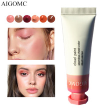 AIGOMC New Makeup Blush Liquid Woman's Fashion Pink Decoration Blusher Matte Nud