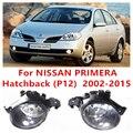 Nissan PRIMERA Hatchback (P12) 2002-2015 Car Styling FAROS ANTINIEBLA Parachoques Delantero Faros antiniebla Halógenos de Alta brillo