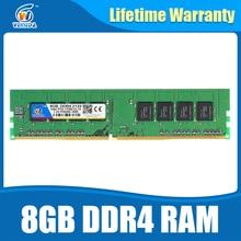 Ram DDR4 8 GB PC4-17000 Speicher Ram ddr 4 2133 Für Intel AMD DeskPC Mobo ddr4 8 gb 284pin Marke Dimm Lebenslange Garantie