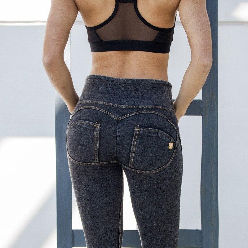 ФОТО Women Yoga Pants Sexy Hip High Waist Sport Pants Elastic Fitness Gym Pants Workout Running Tight Sport Leggings Female Trousers