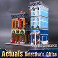 2016 LEPIN 15011 2262 Unids Creador Ciudad Calle Detective de Oficina Modelo Kit de Construcción de Bloques de Juguete Ladrillos Compatibles 10246