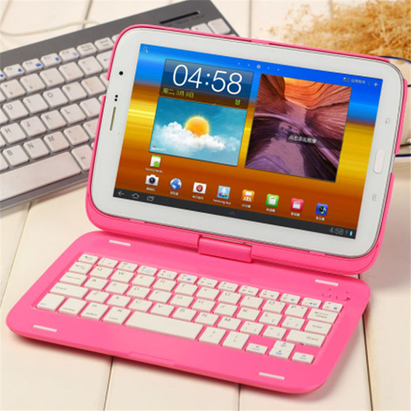Factory price New Swivel Bluetooth Keyboard Case Cover For Samsung Galaxy Note 8.0 N5100 jy28