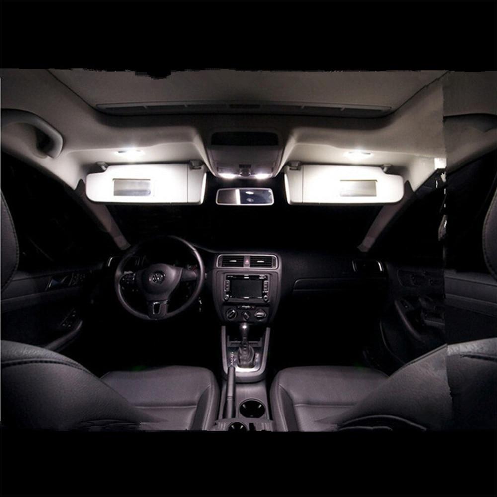 1Canbus For Volkswagen VW Jetta MK6 LED Interior Light Kit Package Sedan 2011 2012 2013 Car Styling