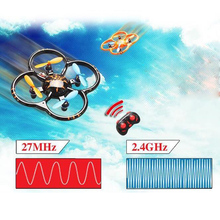 U207 Mini Drone Mini RC Quadcopter Flying Quadrocopter Remote Control Helicopter UFO RTF 4CH 2.4GHz 6-Axis Gyro As CX-10a