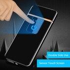 Ultra-thin Fingerprint Touch Sensor Cigarette Lighter Rechargeable USB Metal Pulse USB lighters Flameless Lighters