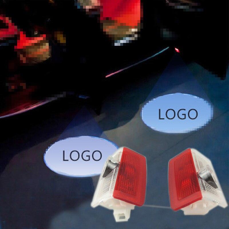LED car Door Courtesy Ghost Shadow LOGO Projector Laser Lamp For Mercedes-Benz A B M E C GL GLC GLE GLS GLA w166 w212 w246 w176
