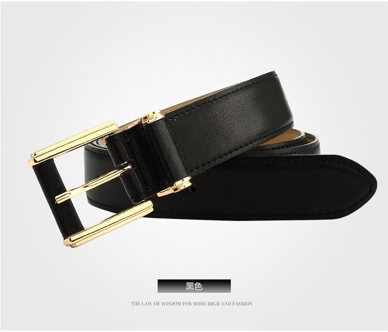 CASTELLES Formal Belts For Women 6 colors Designer Fashion Female Belt Woman High Quality Genuine Leather Cinturones Mujer (6)