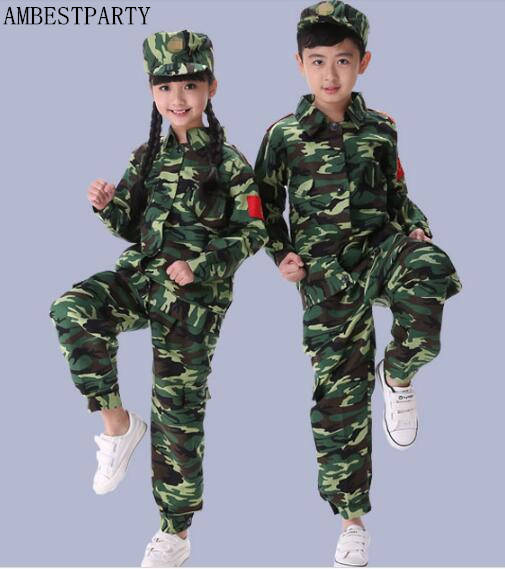 2017 summer kids army camo camouflage soldier military marine