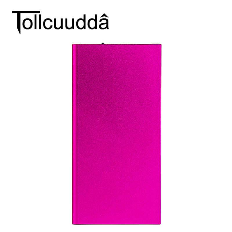 Tollcuudda 10000 mah قوة البنك المحمولة بطاريات Chargeur مزدوجة USB Chargeur دي بنك دي اقتدار صب Xiaomi