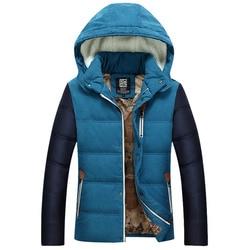 2016 new men s winter hooded jacket korean style thickening down jacket youth uniform tide.jpg 250x250