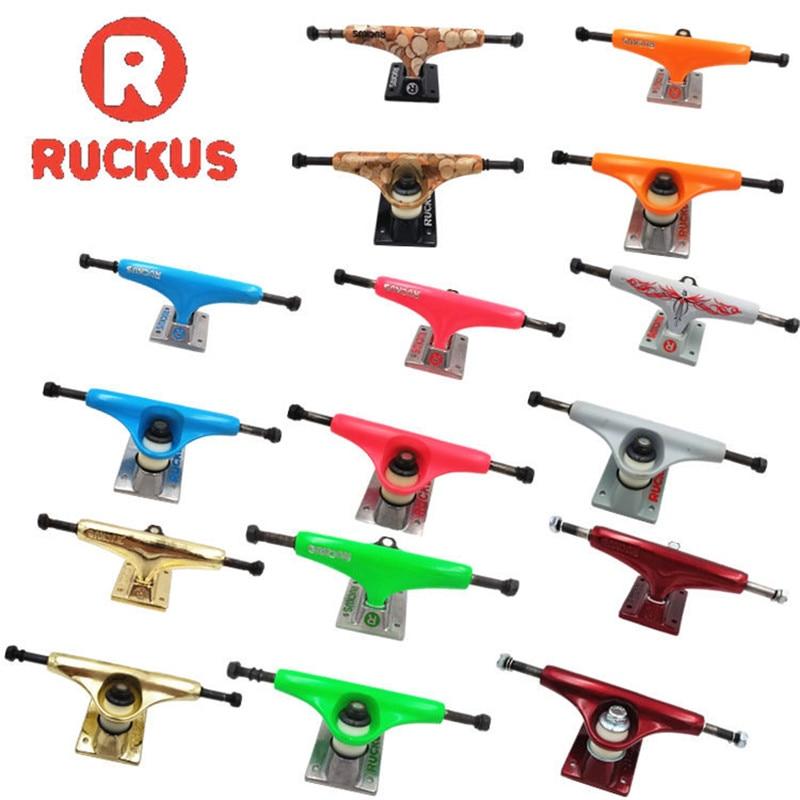 RUCKUS Skate Board Trucks 5inch Middle/Low Skateboard Trucks Aluminum Trucks For 7.5