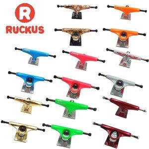 "Image 1 - RUCKUS Skate Board Trucks 5inch Middle/Low Skateboard Trucks Aluminum Trucks For 7.5"" 7.75"" Skateboard Decks"
