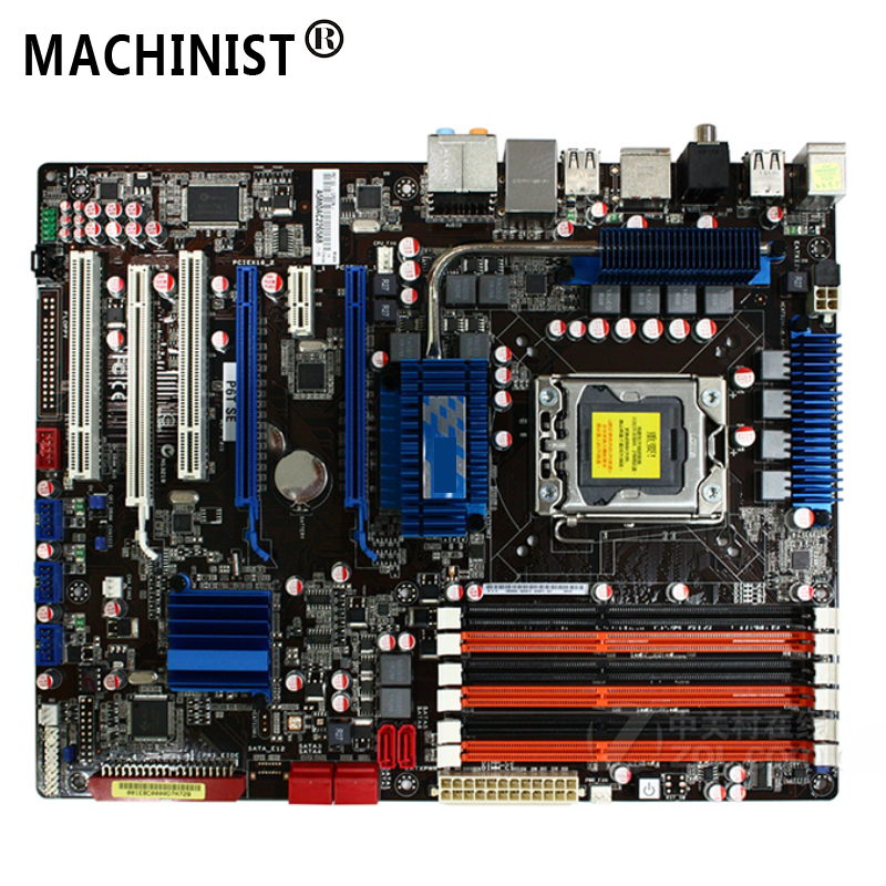Desktop Motherboard Lga 1366 X58 Asus P6t DDR3 for SE 24G USB2.0 100%Fully-Tested Original