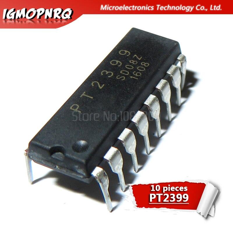 10 шт. PT2399 DIP-16 o цифровая схема реверберации IC новый оригинальный
