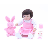 OtardDolls Boneca Reborn Dolls 14inch 35cm Soft Silicone vinvl Reborn Baby Doll Newborn Lifelike Bebe Reborn Dolls Gift for Kids