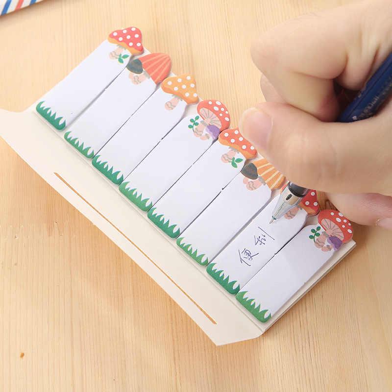Kawaii самоклеящиеся заметки мини Еженедельный дневник планировщик наклейки блокнот милый блокнот школьные канцелярские принадлежности 02079
