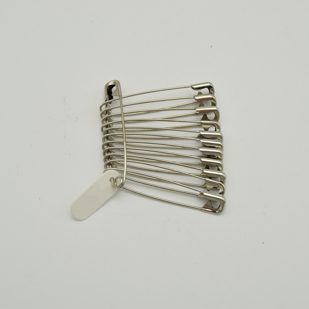 864pcs Good quality steel very strong for sewing & craft steel SAFETY PINS SIZE 1-1/2 length (40mm)