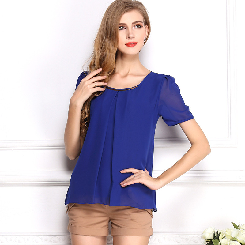 Popular Ladies Royal Blue Tops-Buy Cheap Ladies Royal Blue Tops ...