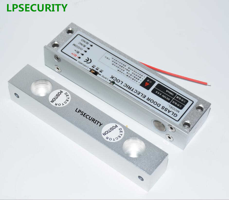 LPSECURITY DC12V with timer Fail Safe Electric Drop Bolt