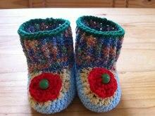 Crochet Baby Booties,Handmade,Baby booties,  gift for baby, original