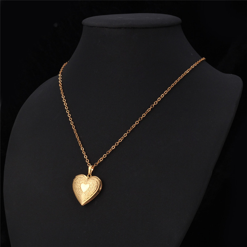 Heart floating photo memory locket necklace women gold color fashion heart floating photo memory locket necklace women gold color fashion men jewelry vintage necklaces pendants p197 in pendants from jewelry accessories on aloadofball Image collections