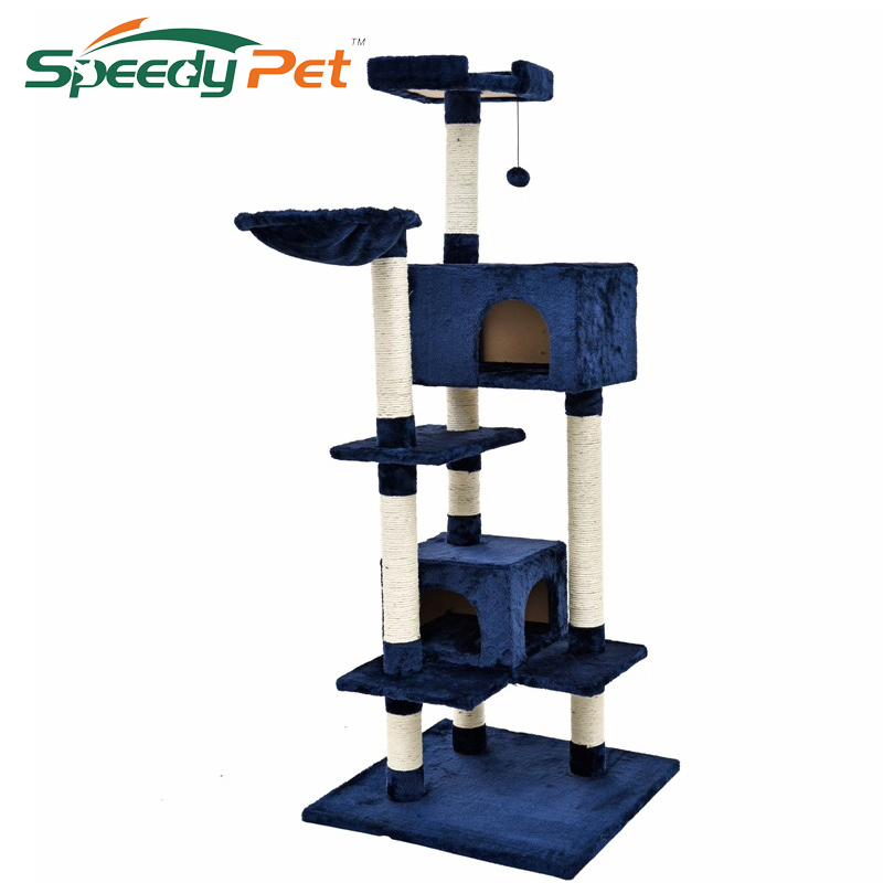 2016 Luxury Cat Toys New Design Cat Tree Kitten House Pet Home Furniture Scratchers Pet Toy For