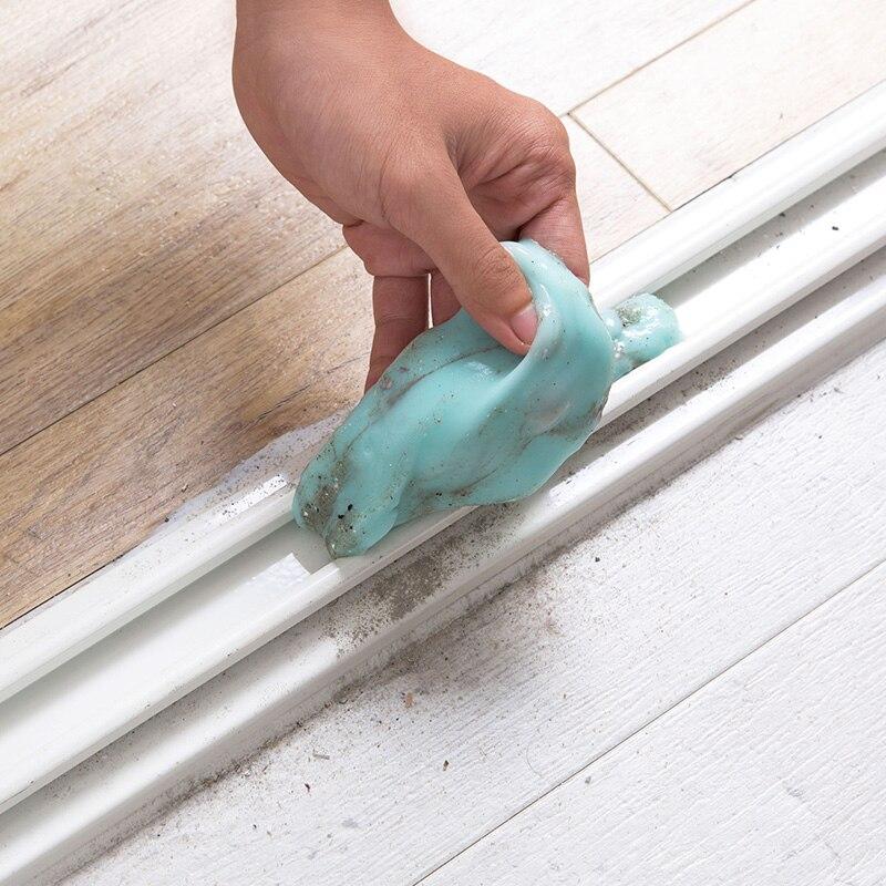 Casa ordenador teclado limpieza gel suave enlatado teléfono móvil pantalla limpieza pegamento adhesivo transparente pegamento mágico