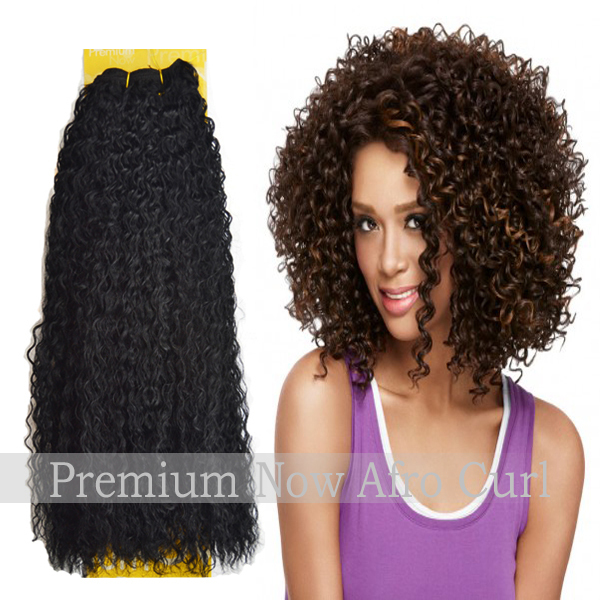 Best Grade Sensationnel Premium Now Afro Curl Human Hair Extensions