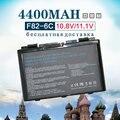 4400 mah bateria para asus 90-nvd1b1000y a32-f52 a32-f82 a32-k40 a32 f82 l0690l6 l0a2016 f52 f52a f52q f82 f82q f83 f83cr f83s