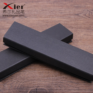 Image 2 - 10pcs/set Korea selling gift box creative school office stationery gift pen box black business pen box