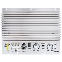 1000W Class AB Digital Aluminum Alloy 2 Channel Silver Car Audio AMP Subwoofer Amplifier Universal Auto Audio Power Amplifier