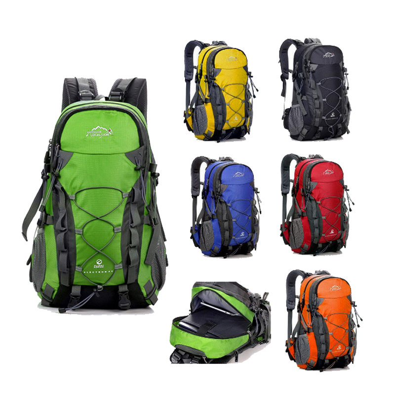 LOCAL LION Outdoor Waterproof Hiking Backpack 40L,Ventilated Women Men Camping Travel Bag ,Molle Trekking Climbing Bag Rucksack local lion 35l outdoor mountaineering backpack women men waterproof nylon climbing hiking rucksac travel backpack mochila xa11wa