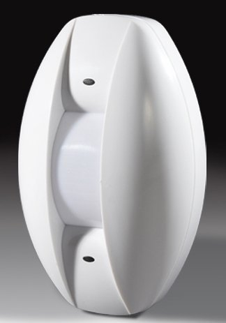 Wired Curtain PIR Detector | wired alarm accessories | Wall or ceiling mounted intrusion sensor | burglar detector
