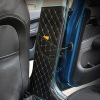Auto Innentür Seite B Säulen Dekoration Aufkleber Hülle Pad Matte Für Mini Cooper Countryman F60 Auto Styling Dekoration
