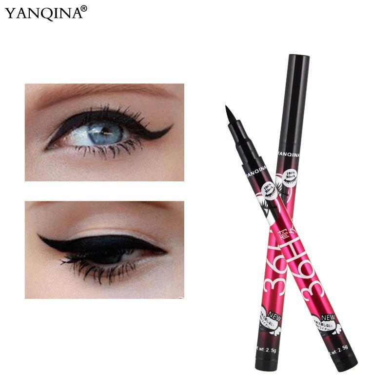 Long Lasting Waterproof Eyeliner Pencil 4 Colors Fast Drying Makeup Eye Liner Liquid