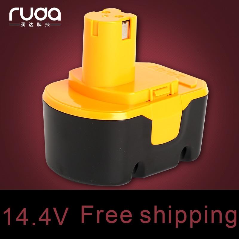 For Ryobi 14.4V 2000mAh power tool battery Code1400144/1400671/130224010/130224011/4400011 /1314702/B-8287/BPT1026/RY-1444