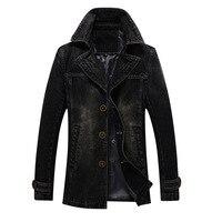 Business Casual Denim Jackets Blazer Men 2019 Autumn Jeans Cotton Jackets Coats Man Suits Winter Top Outwear Male Cowboy Jackets